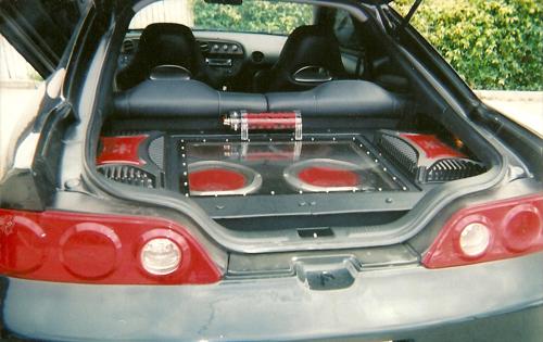 Custom Car Audio Installation
