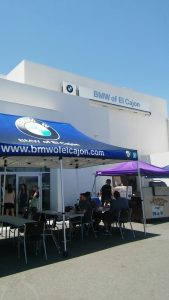 Full service employee appreciation luncheon for BMW of El Cajon.